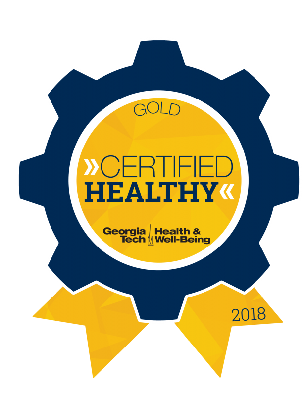 Gold Certified Healthy Badge