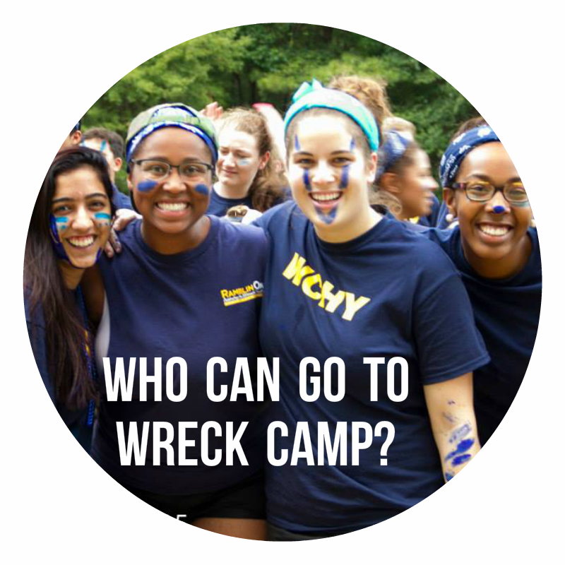 Who can go to Wreck Camp?